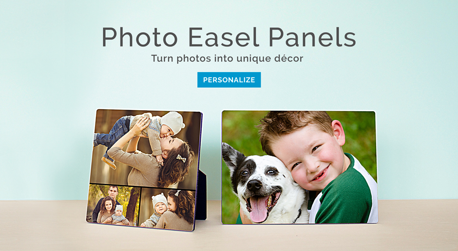 Photo Easel Panels
