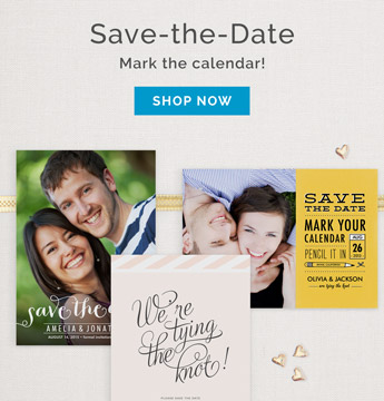 Save The Date - Wedding Announcements